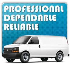 Professional, dependable, and reliable